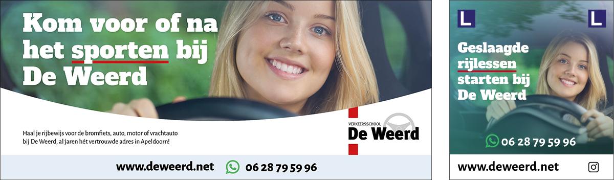Advertentie De Weerd